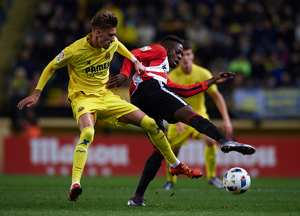 Villarreal Castillejo Athletic Bilbao Inaki Williams