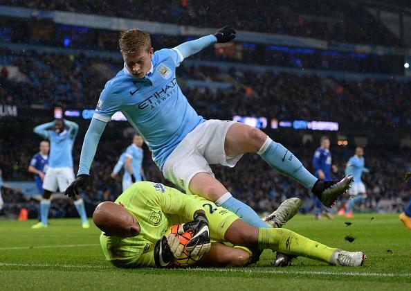 Manchester City Everton Howard