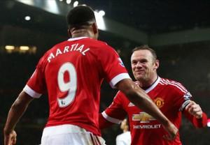 I due marcatori del Manchester United