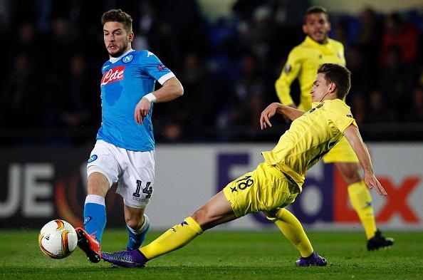 Dries Mertens Napoli Denis Suarez Villarreal