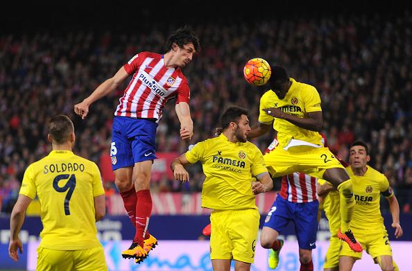 Stefan Savic Atlético Madrid Victor Ruiz Bailly Villarreal