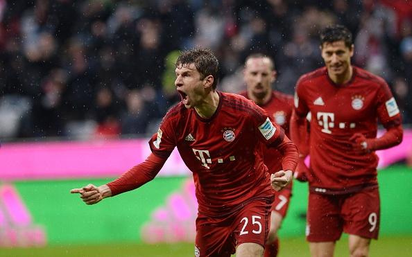 Bundesliga Bayern Monaco Muller