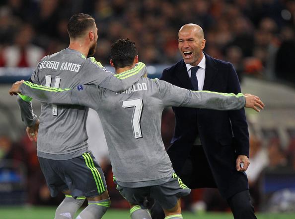 Roma Real Madrid Champions League