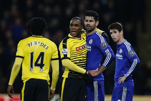 Watford Chelsea Premier League Diego Costa