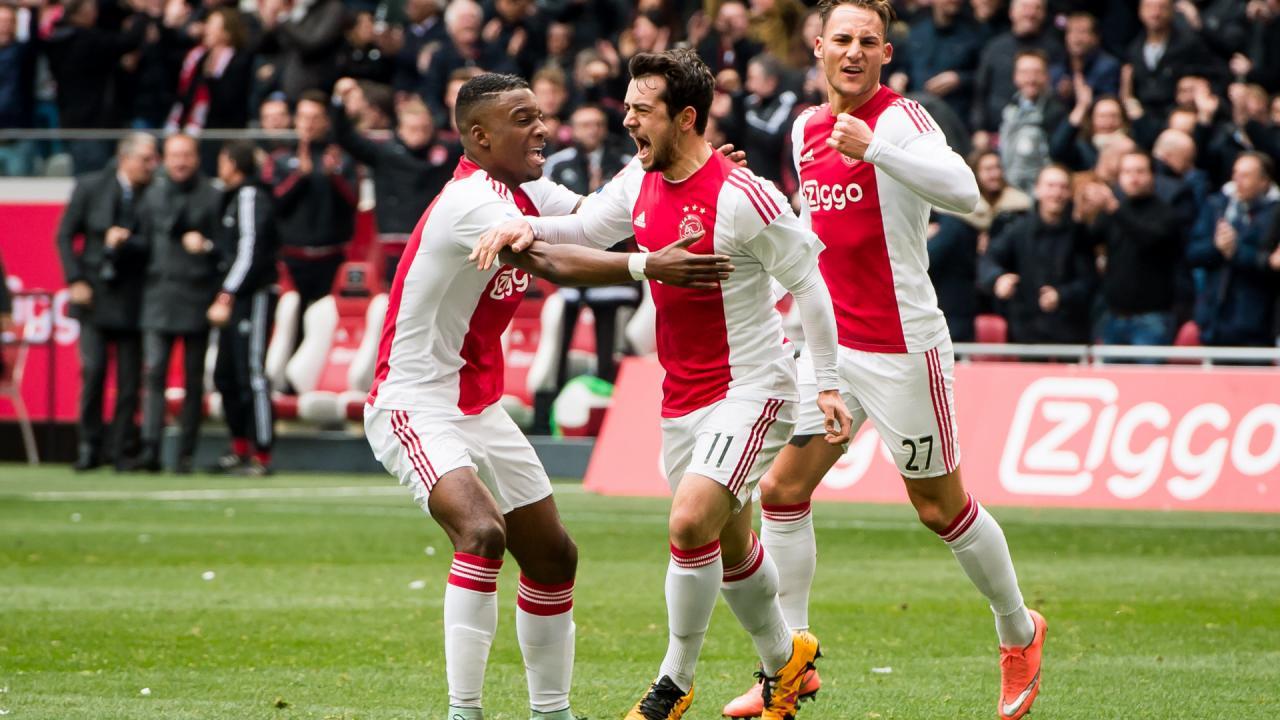 Ajax Mitchell Dijks, Nick Viergever, Mike van der Hoorn