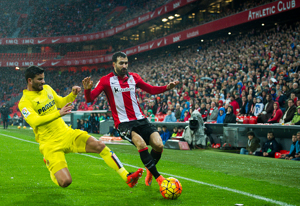 Mikel Balenziaha Athletic Bilbao Mateo Musacchio Villarreal