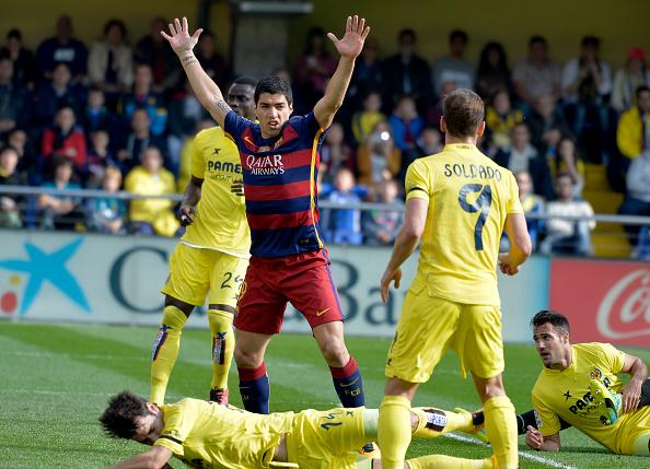 Luis Suarez Barcellona Soldado Villarreal
