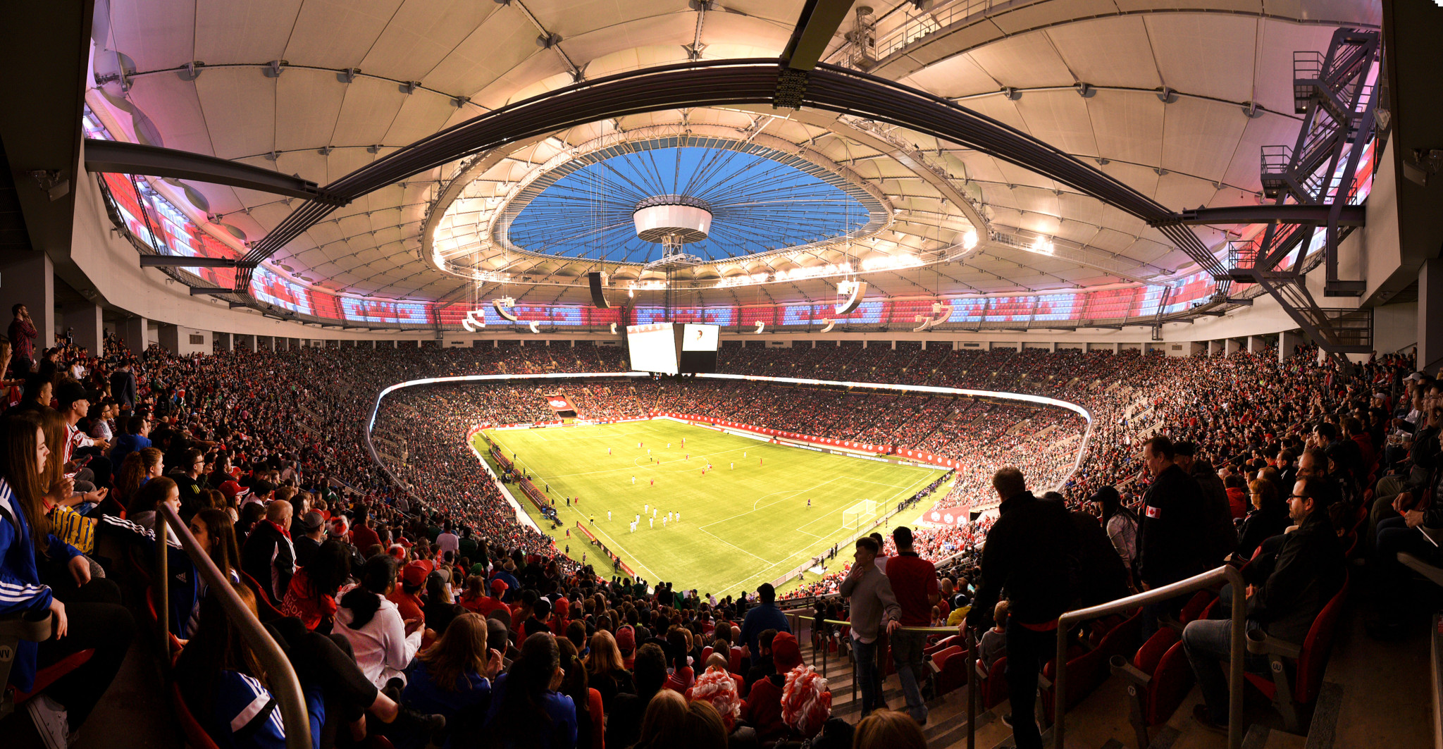 Canada Mexico BC Place