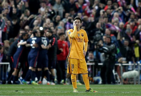 Atletico Madrid Barcellona Messi