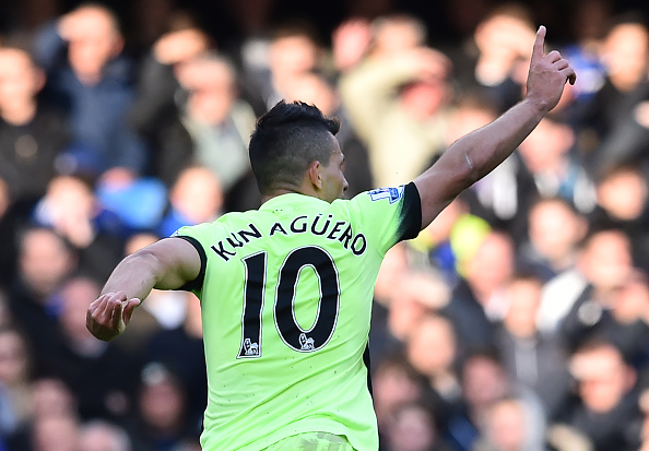 Chelsea Manchester City Aguero