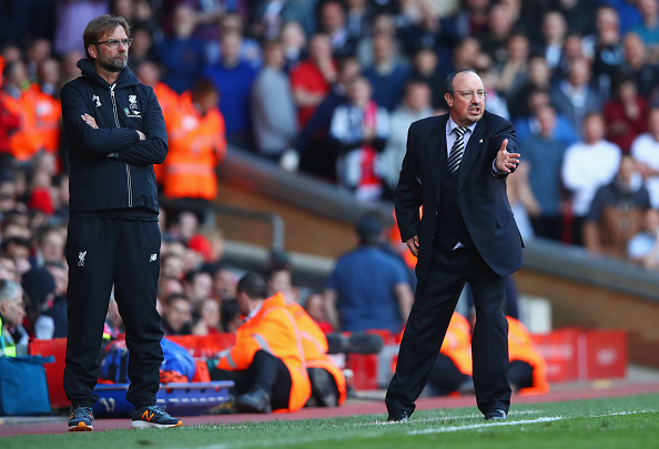 Premier League Klopp Benitez