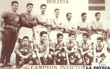 La Bolivia campione nel 1963