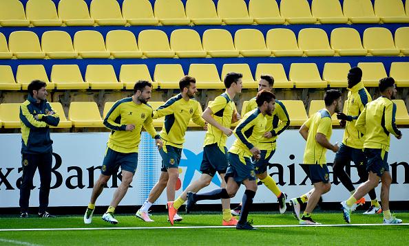 Villarreal allenamento