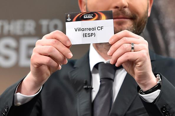 Villarreal sorteggio