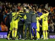 Villarreal festeggiamenti