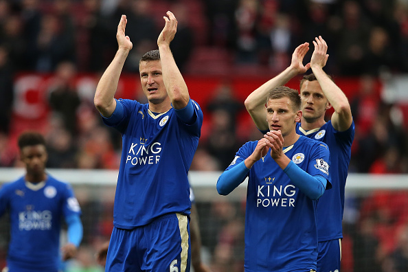 Manchester United Leicester campione