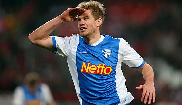 Simon Terodde, attaccante del Bochum, capocannoniere con 25 reti