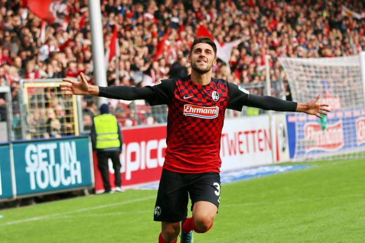 L'italo-tedesco Vincenzo Grifo, sorpresa con il Friburgo. Per lui 14 gol e 15 assist
