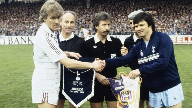 Tottenham-Anderlecht, finale di Coppa UEFA