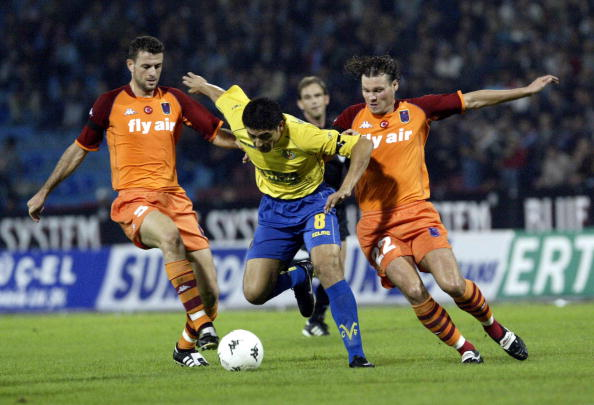 Trabzonspor Huseyin Cimsir Juan Roman Riquelme Villarreal