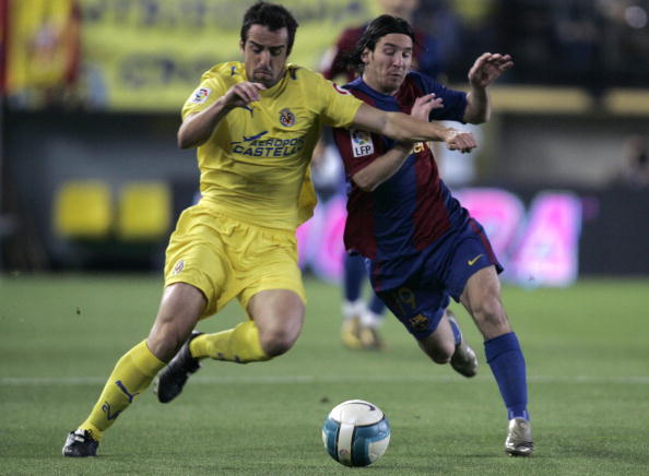Villarreal Jose Enrique Lionel Messi Barcellona