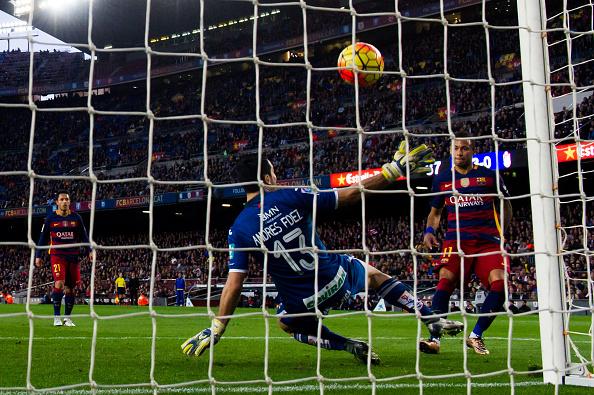 Andrés Fernandez Neymar Granada Barcellona