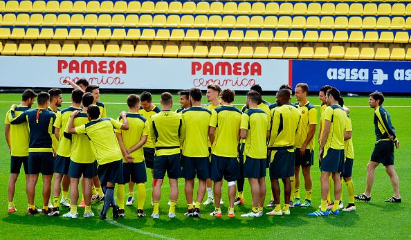 Villarreal allenamenti