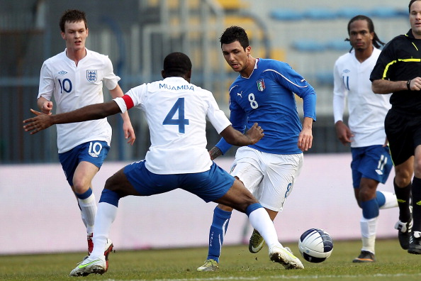Fabrice Muamba Inghilterra Roberto Soriano Italia under 21