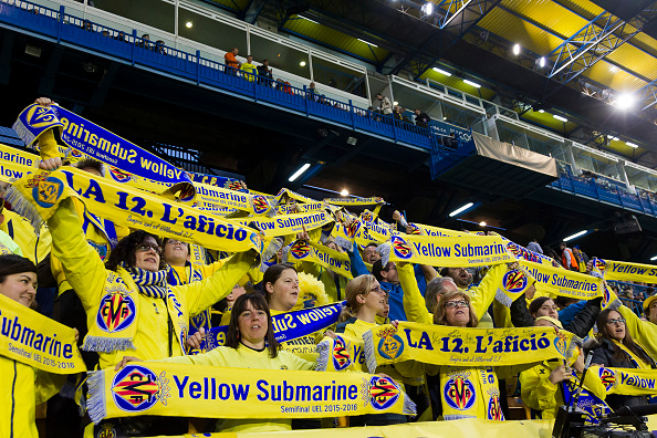 Villarreal Madrigal tifosi