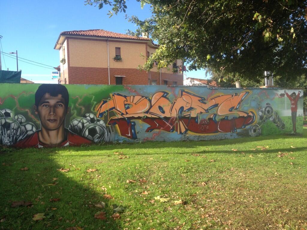graffiti murales Jose Angel Gijon
