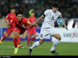 Azmoun Iran v South Korea