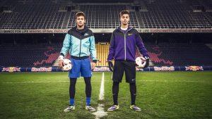 Neymar e Hachim Mastour.