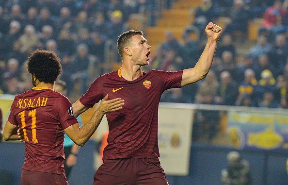 Villarreal Roma Dzeko