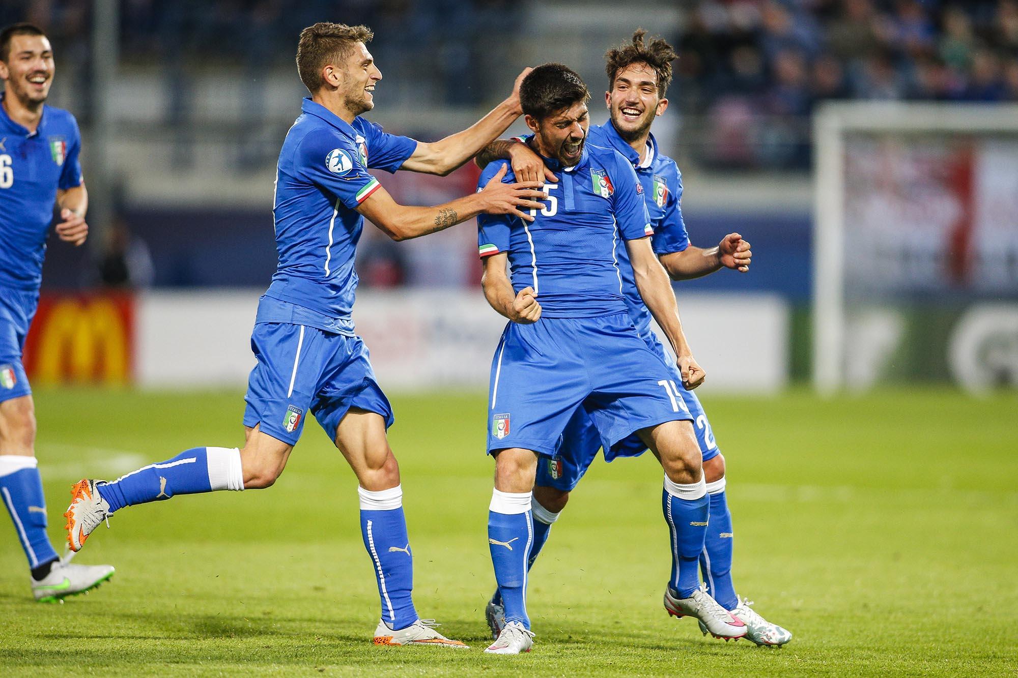 England v Italy – UEFA Under21 European Championship 2015