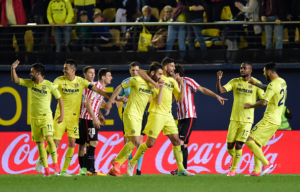 Villarreal celebrazioni esultanza