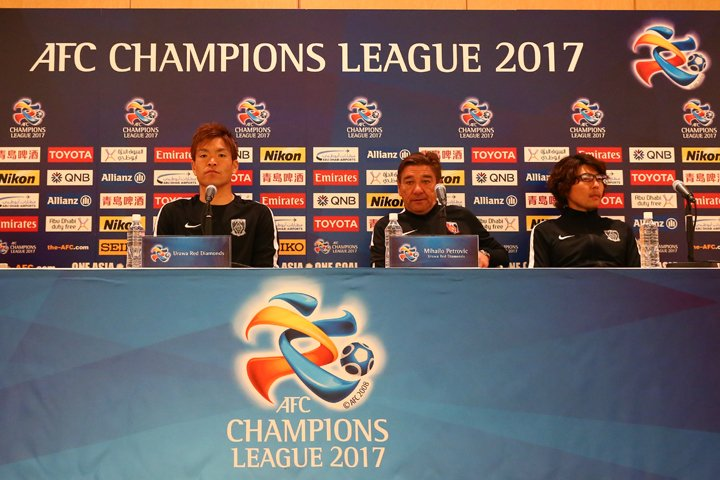 Urawa Reds press conference