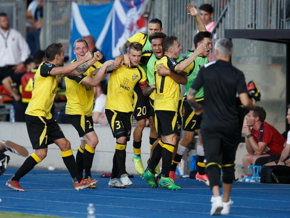 Progrés-Niederkor-Glasgow-Rangers