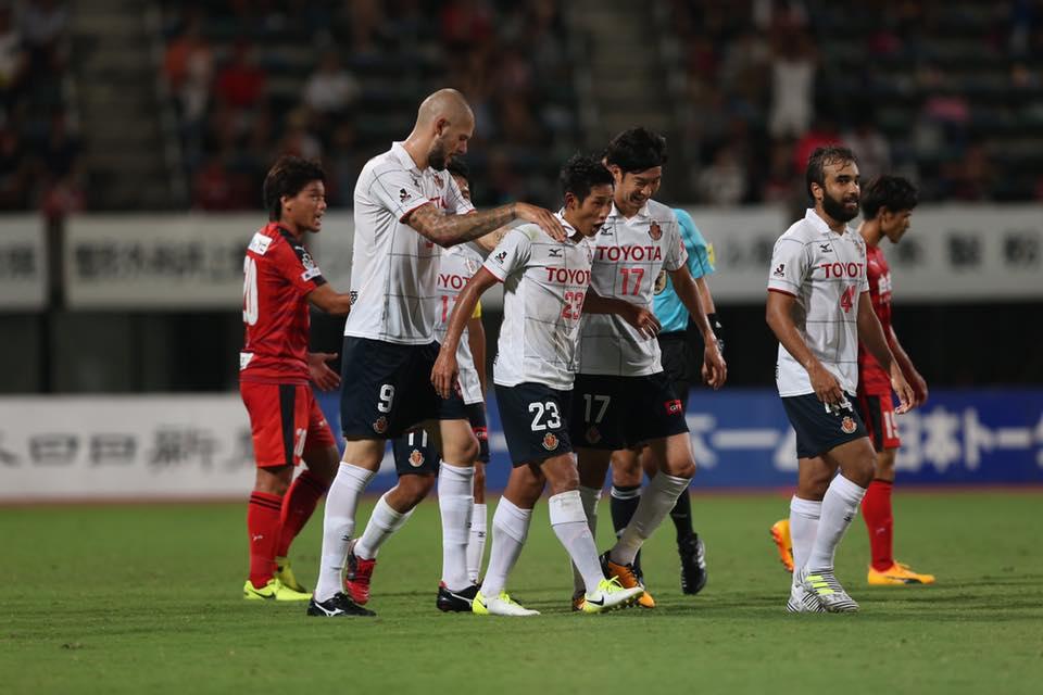 Kumamoto-Nagoya-J2-League