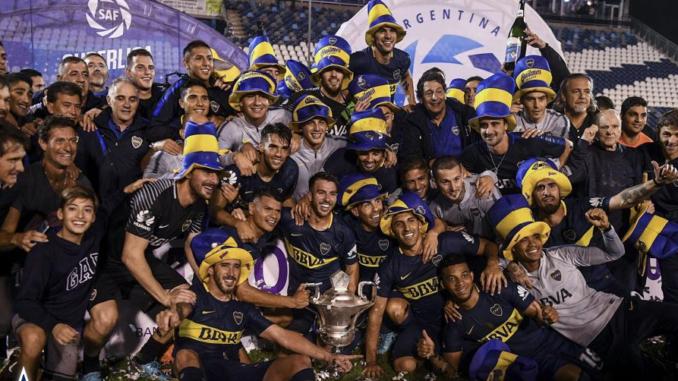 boca campione 2018